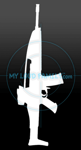 XM8 Sharpshooter Decal Sticker