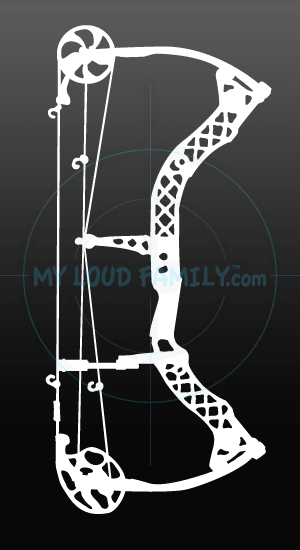 Mathews z7 Compound Bow Decal Sticker