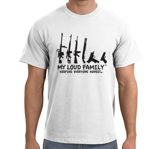 Signature My Loud Family Gun T-SHIRT