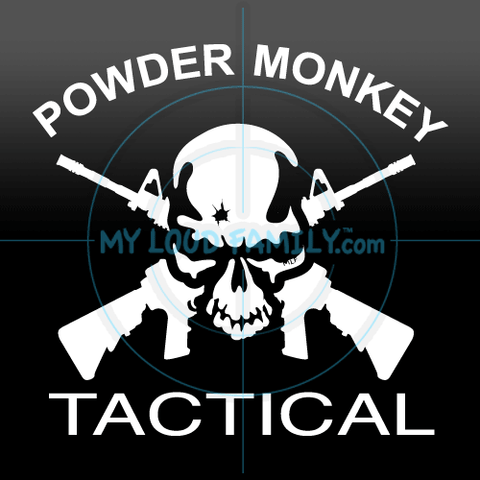 Powder Monkey - Custom Decal Sticker