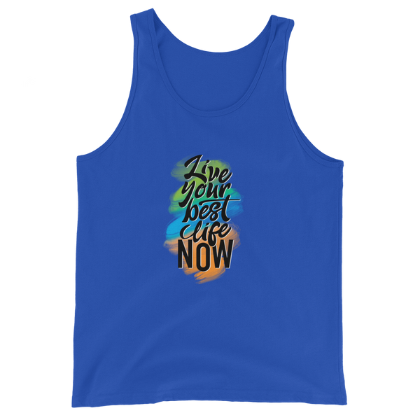 Live Your Best Life Now - Multi-Color Women's Tank