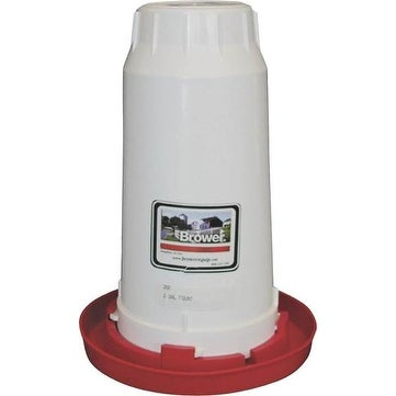 Brower 2GF Chick Waterer Fount , 2 Gallon