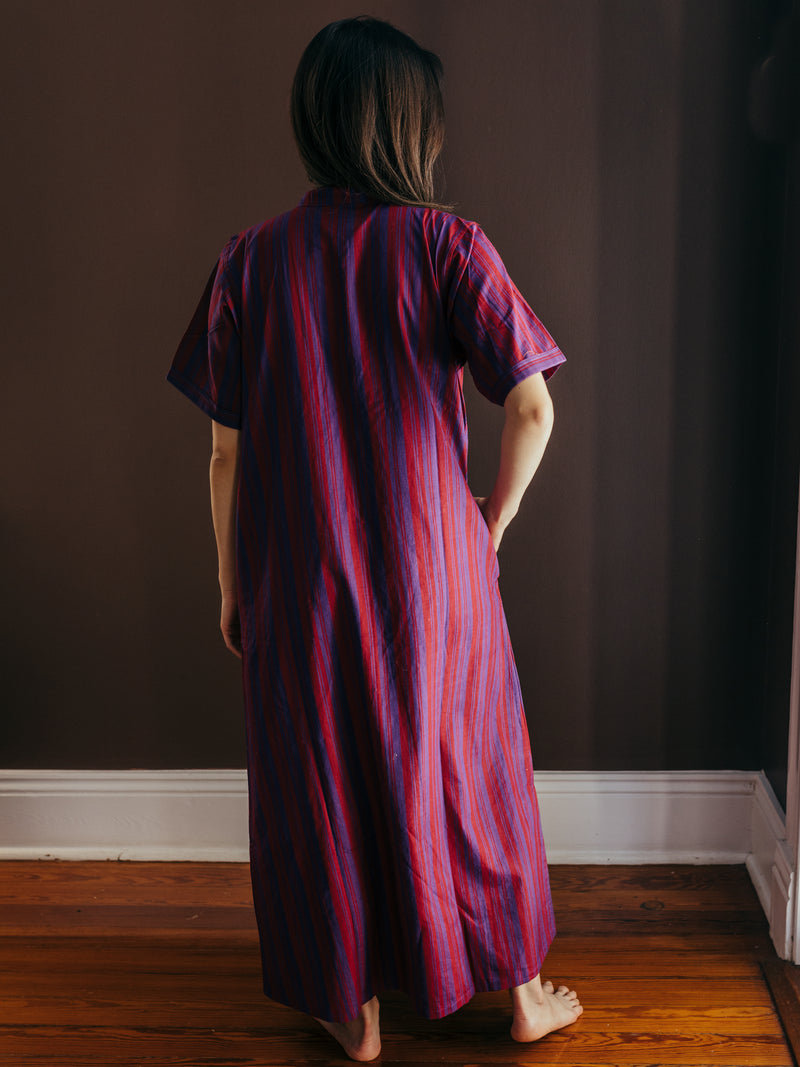 anu handloomed shirtdress
