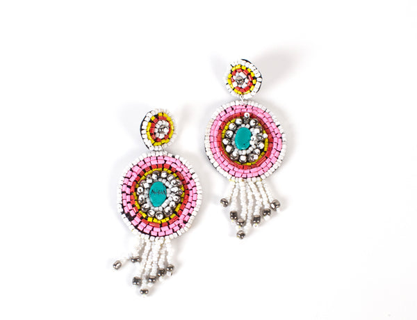 Beaded Earrings #1