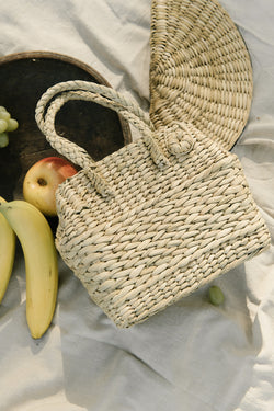 small picnic satchel