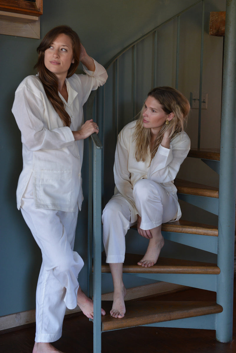 muslin oversized pajama set