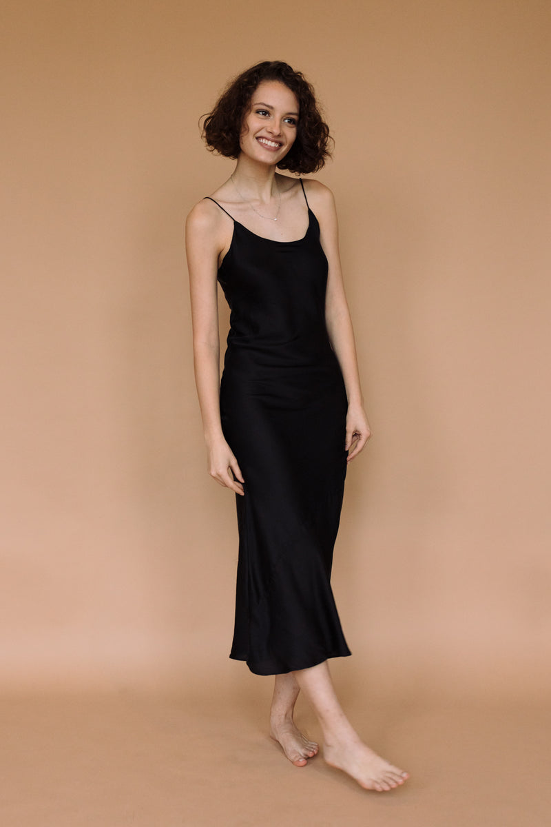 keya slip dress