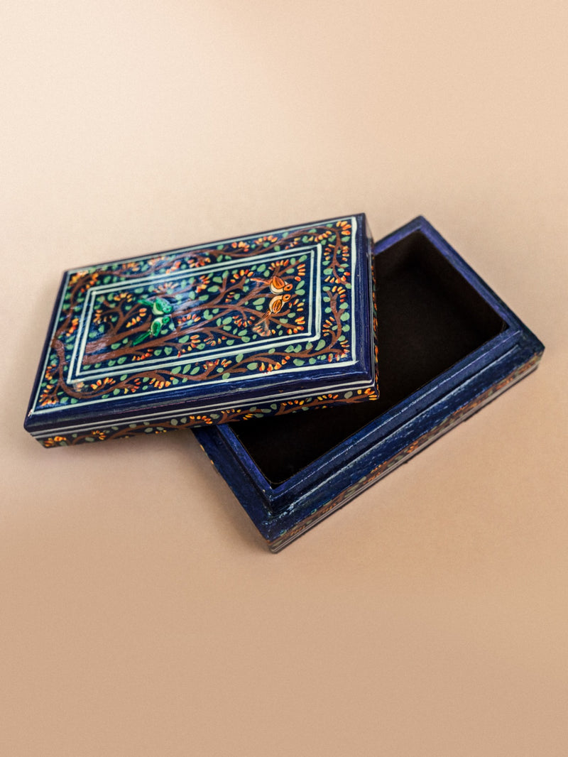 hand painted lacquer decorative box #1