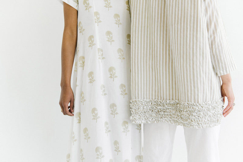 tanvi muslin dress