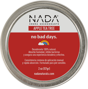 Nada Naturals Desodorante Apple Tea Tree