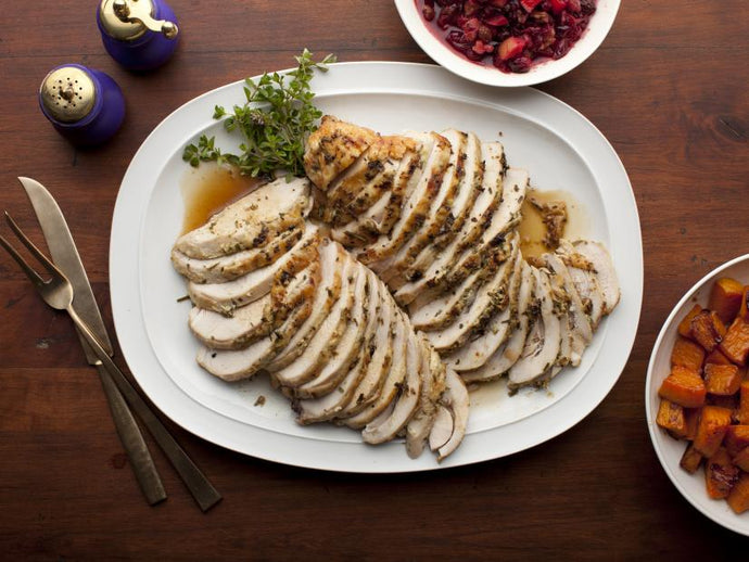 Honey Glazed Turkey Breast (Pierś z Indyka w Miodzie)