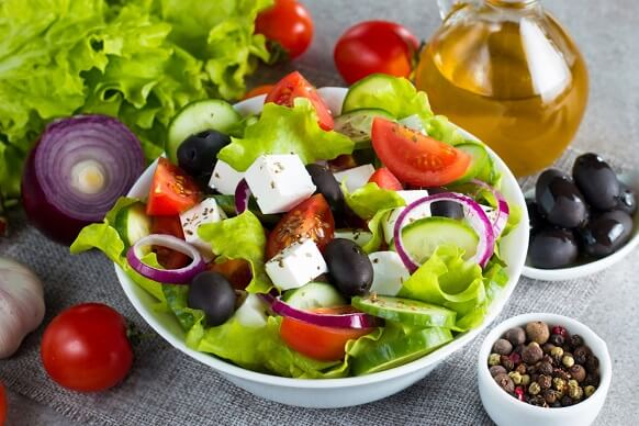 Greek Salad (Sałatka Grecka)