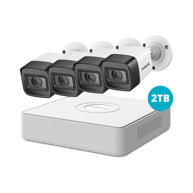 Defender 4K Ultra HD 2TB Security System with 4 Cameras