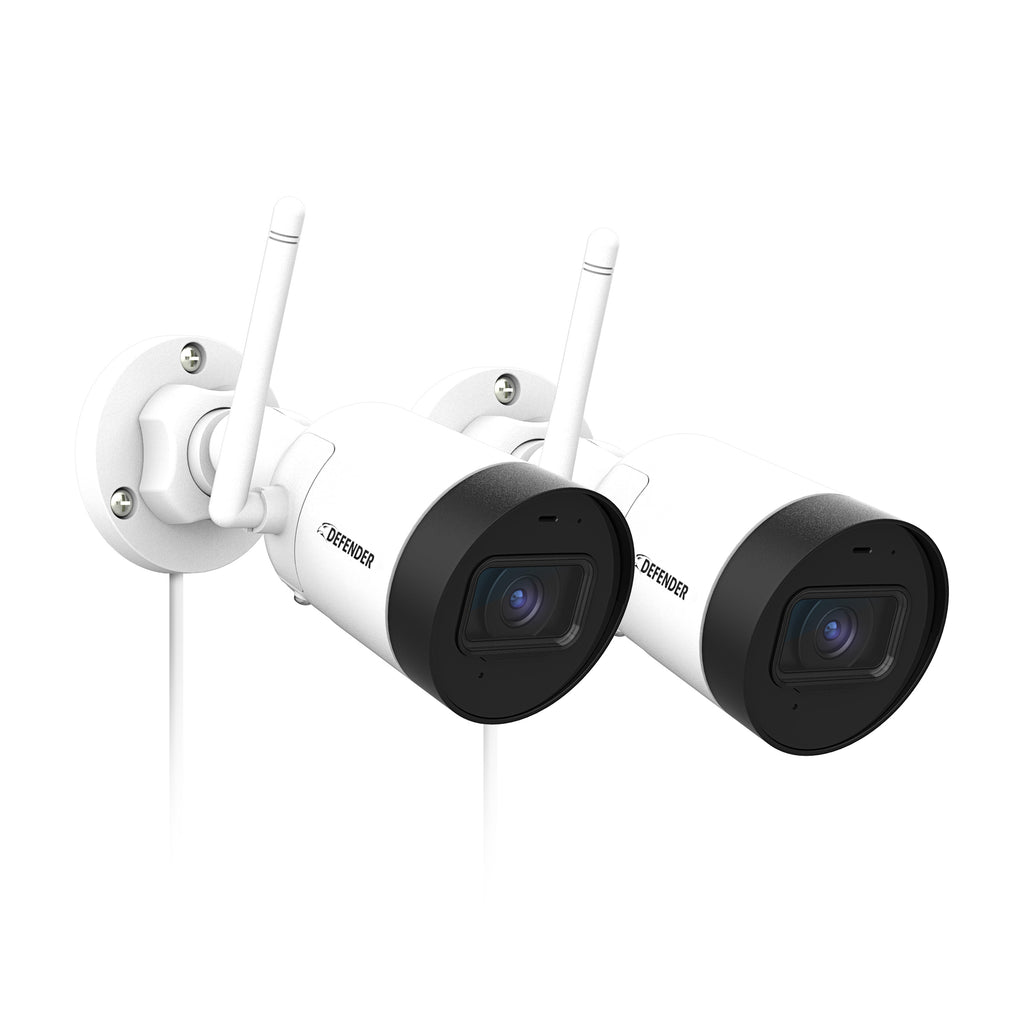 Guard HD Wi-Fi Security Camera, 2 Pack