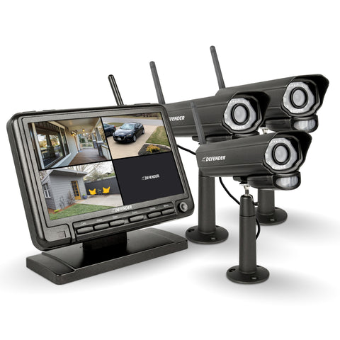 PhoenixM2 Security System with 3 Cameras