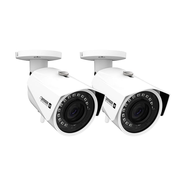 Fake Metal Bullet Security Cameras - 2 Pack