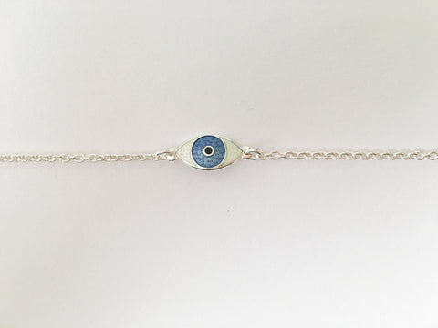 MINI THIRD EYE BRACELET blue powder
