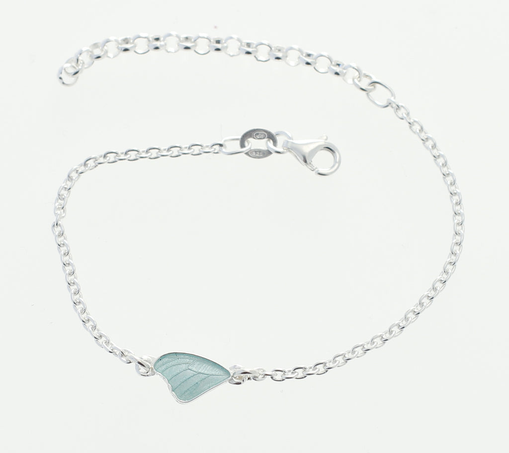 Mini mini butterfly wing bracelet
