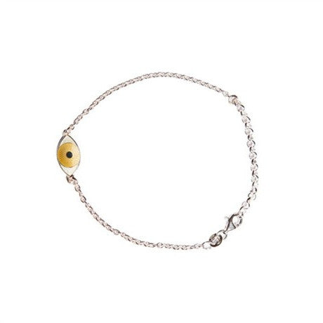 MINI THIRD EYE BRACELET yellow