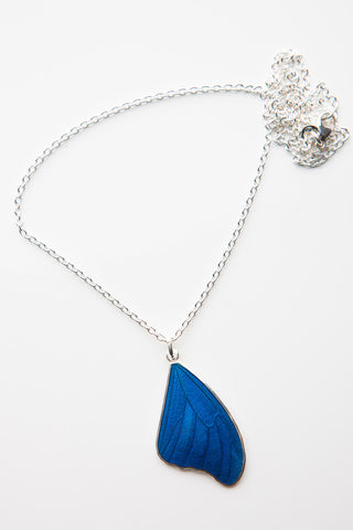 BUTTERFLYWING NECKLACE BLUE