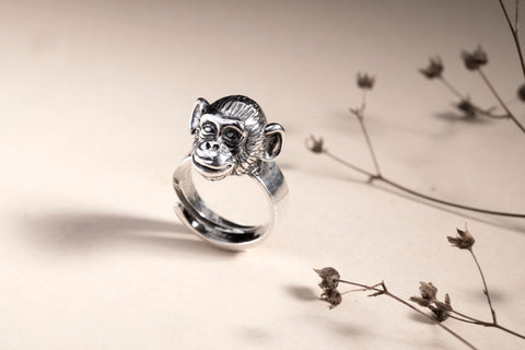 Monkey ring Camilla Prytz for Hillestad