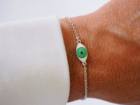 MINI THIRD EYE BRACELET GREEN