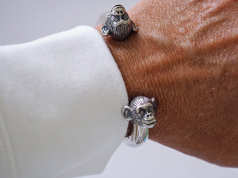 Monkey cuff bracelet Camilla Prytz for Hillestad