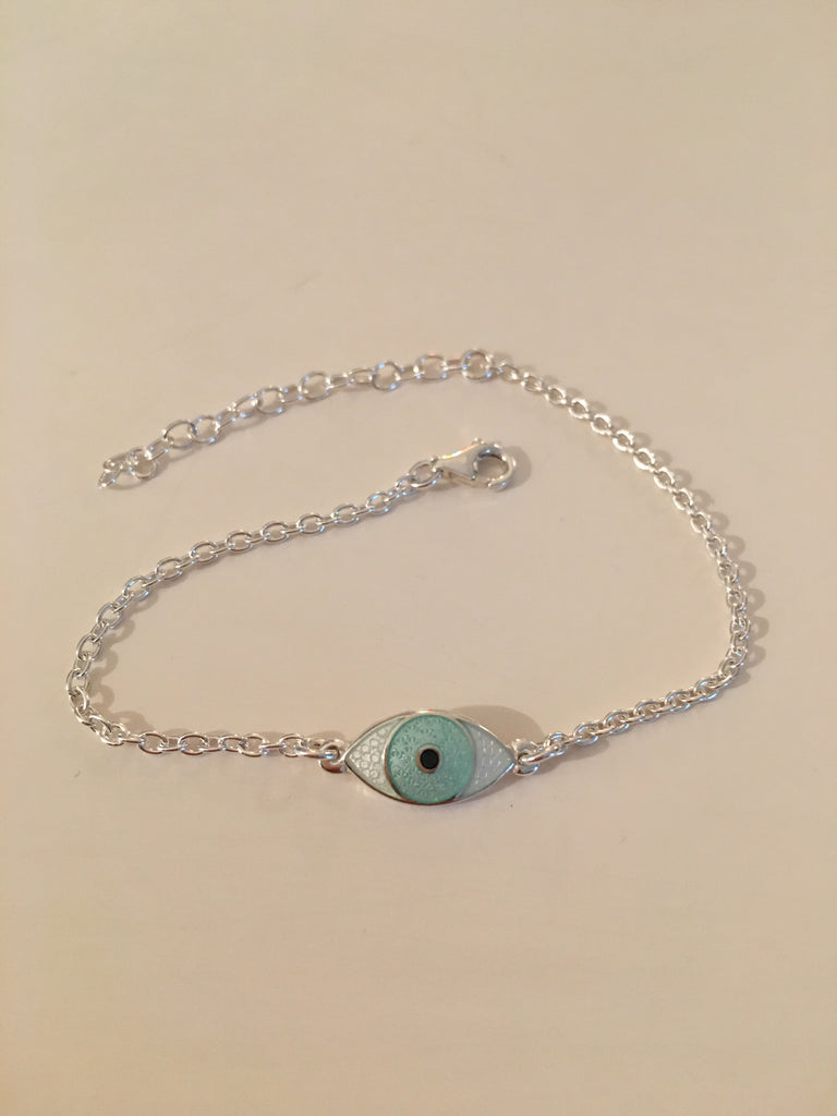 MINI THIRD EYE BRACELET mint green