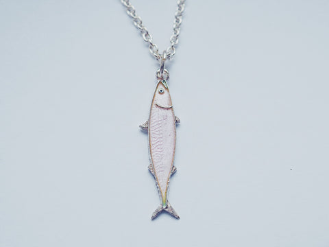 Mini Fish Necklace pink