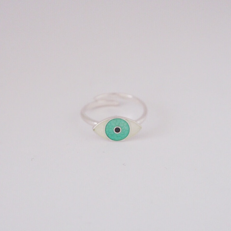 EYE ring by Camilla Prytz Green