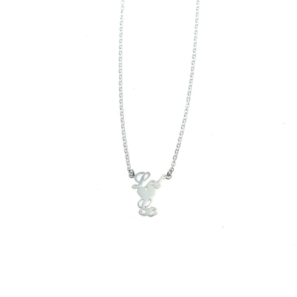 Let Go necklace silver by Camilla Prytz Lux