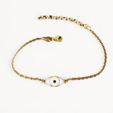 GOLDPLATED MINI THIRD EYE BRACELET by Camilla Prytz