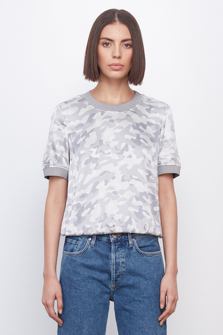 The T-Shirt Greyscale Camo/Grey