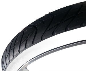 "Greaser 26"" Tire - Black&White"