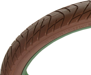 "Greaser 26"" Tire - Brown"