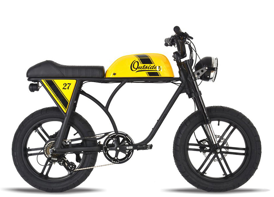 Michael Blast T4B Outsider 500W Fat Tire 48V14.5Ah - Yellow Case