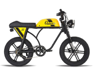 Michael Blast T4B Outsider 750W Fat Tire 48V14.5Ah - Yellow Case
