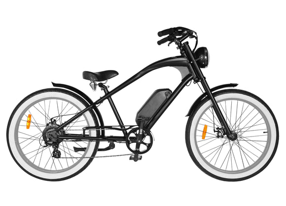 Michael Blast T4B Vacay 500w Electric Bike High Step - Grey Rim