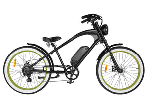 Michael Blast T4B Vacay 350w Electric Bike High Step - Green Rim
