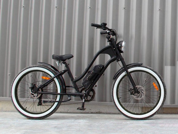 Michael Blast T4B Vacay 500w Electric Bike Low Step - Black Rim