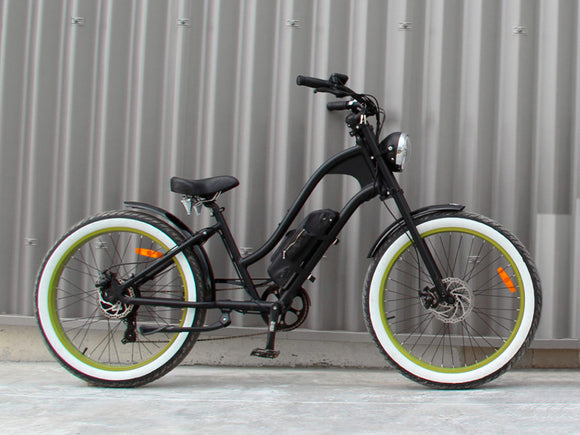 Michael Blast T4B Vacay 350w Electric Bike Low Step - Green Rim