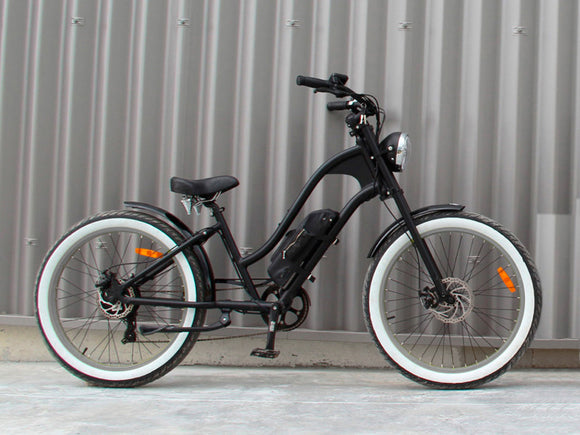 Michael Blast T4B Vacay 350w Electric Bike Low Step - Grey Rim