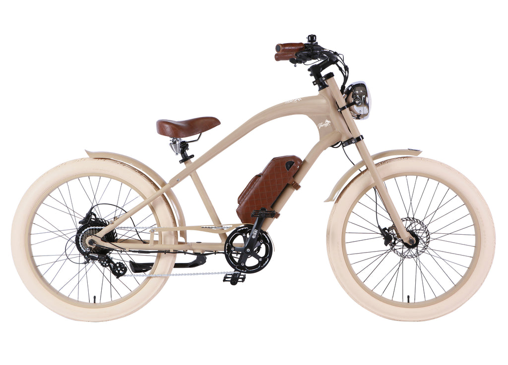 Michael Blast T4B Vacay 500w Electric Bike High Step - Sand Frame