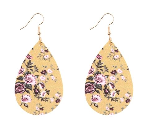 Dobbi floral drop earrings