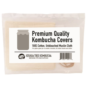 4-Pack of Premium Quality Kombucha Fermenting Covers