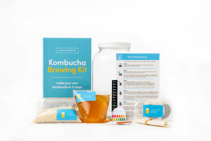 Complete Kombucha Starter Brewing Kit with Kombucha SCOBY