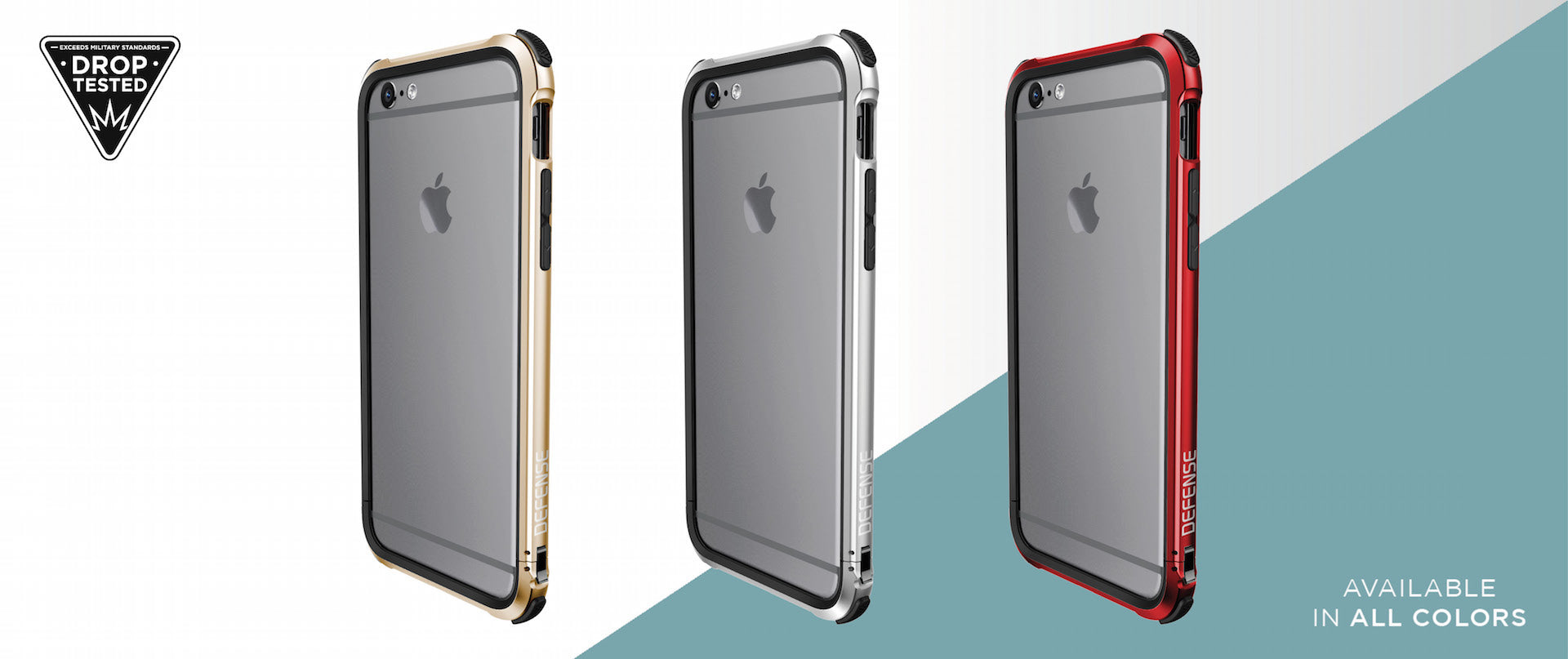Defense Gear | iPhone 6s and iPhone 6 Bumper Case | X-Doria