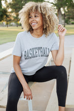 Load image into Gallery viewer, GREY BASKETBALL. TEE