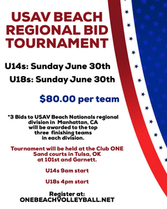 Regional Bid Qualifier Stars and Stripes Doubles Tournament