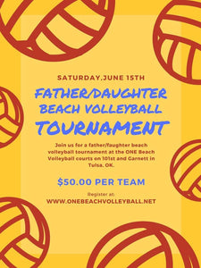 Father/Daughter Beach Volleyball Tournament